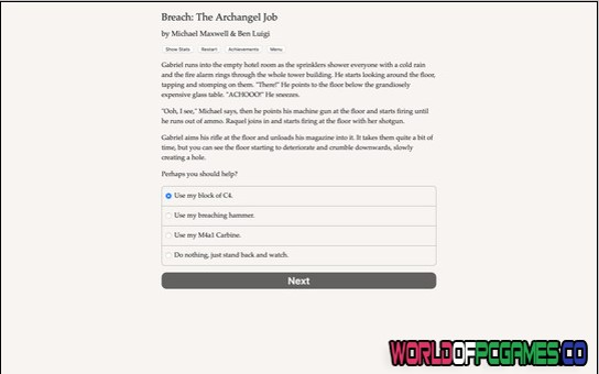 Breach The Archangel Job Free Download By Worldofpcgames.co