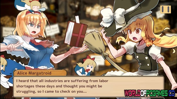 Marisa's Marvelous Magic Shop Free Download By Worldofpcgames.co