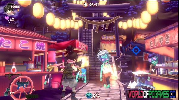 Descarga gratuita de Zombie Panic In Wonderland por Worldofpcgames.co