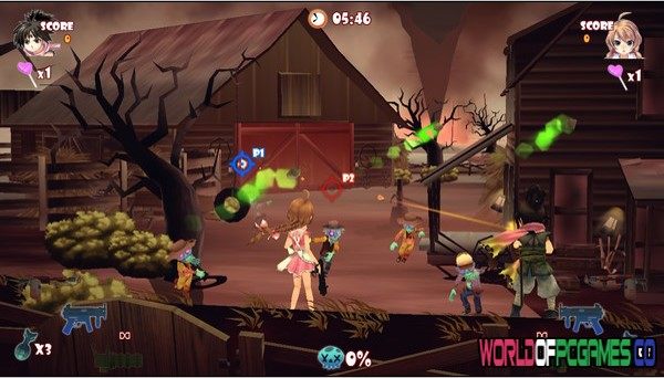 Zombie Panic In Wonderland Free Download By Worldofpcgames.co
