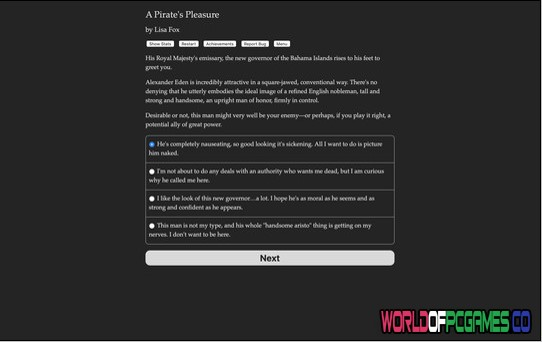 A Pirate's Pleasure Free Download By Worldofpcgames.co