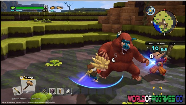 DRAGON QUEST BUILDERS 2 Free Download By Worldofpcgames.co