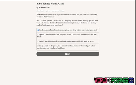 In The Service Of Mrs Claus Free Download By Worldofpcgames.co