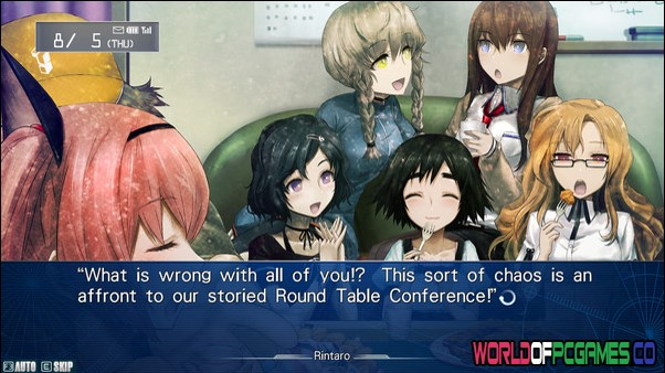 STEINS GATE My Darling's Embrace Free Download By Worldofpcgames.co