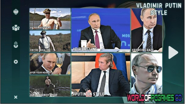 Vladimir Putin Style Free Download By Worldofpcgames.co