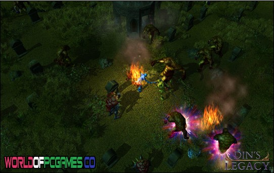 Din's Legacy Free Download PC Game By Worldofpcgames.co
