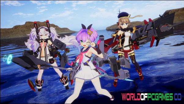 Azur Lane Crosswave Free Download PC Game By Worldofpcgames.co