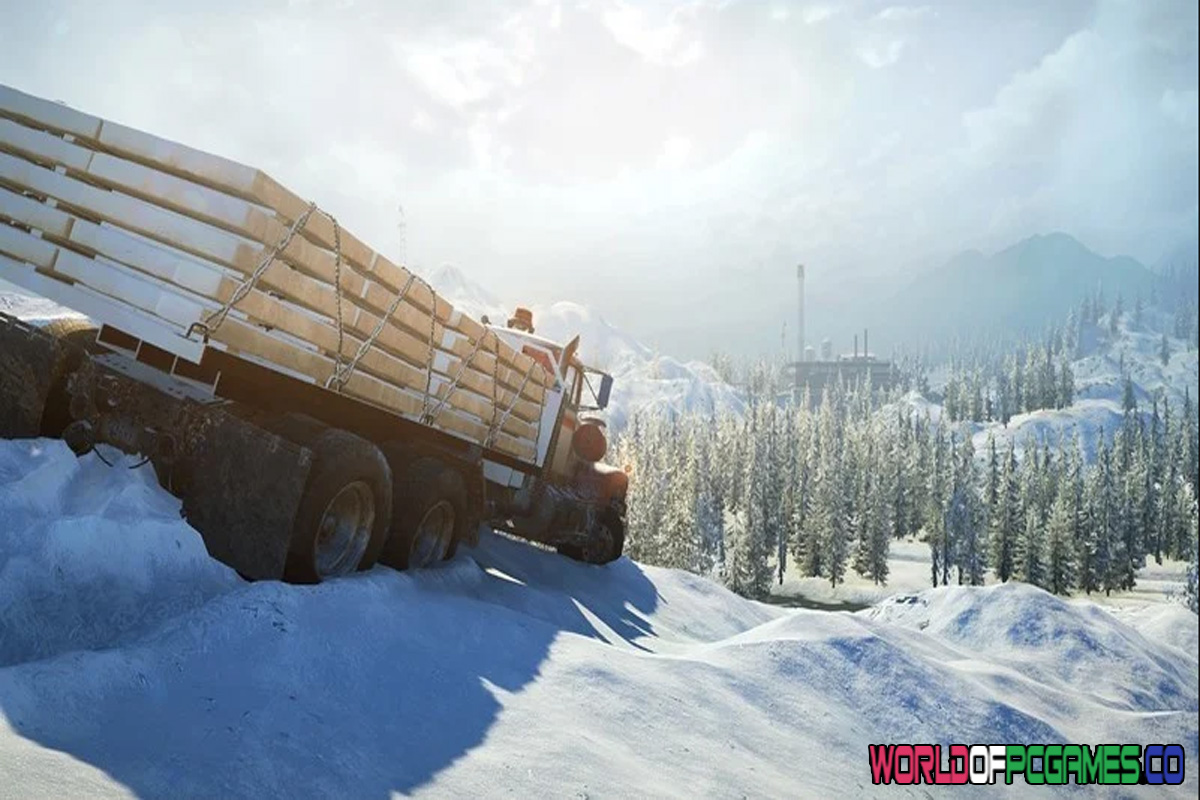 SnowRunner Free Download By Worldofpcgames.co