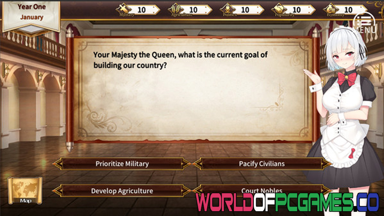 Queen's Glory Free Download PC Game By Worldofpcgames.co