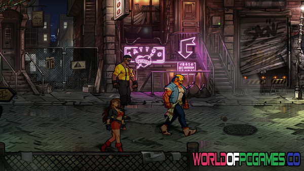 Streets of Rage 4 Free Download By Worldofpcgames.co