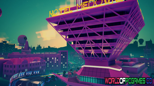 Electro Ride The Neon Racing Free Download PC Game By Worldofpcgames.co