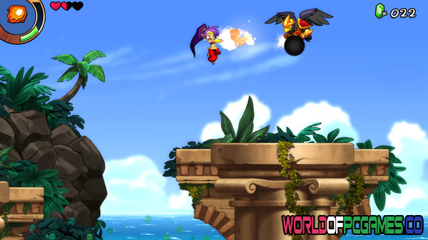 Shantae and the Seven Sirens Free Download PC Game By Worldofpcgames.co