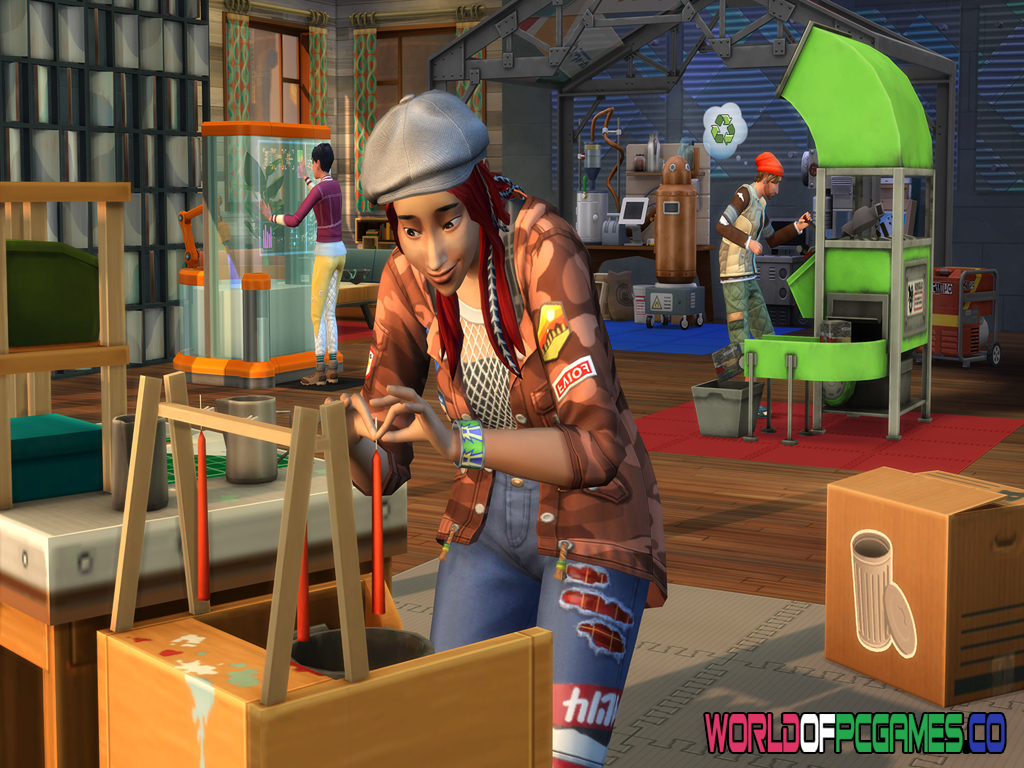 The Sims 4 Eco Lifestyle Free Download PC Game By Worldofpcgames.co