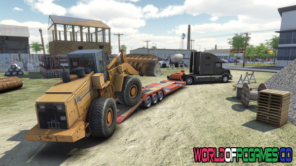 Truck and Logistics Simulator Free Download PC Game By Worldofpcgames.co
