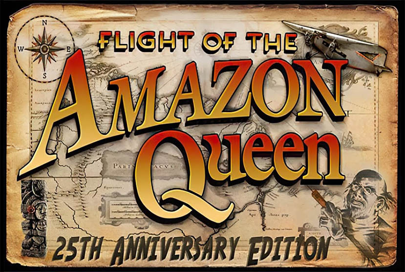 Flight of the Amazon Queen 25th Anniversary Edition Free Download By Worldofpcgames