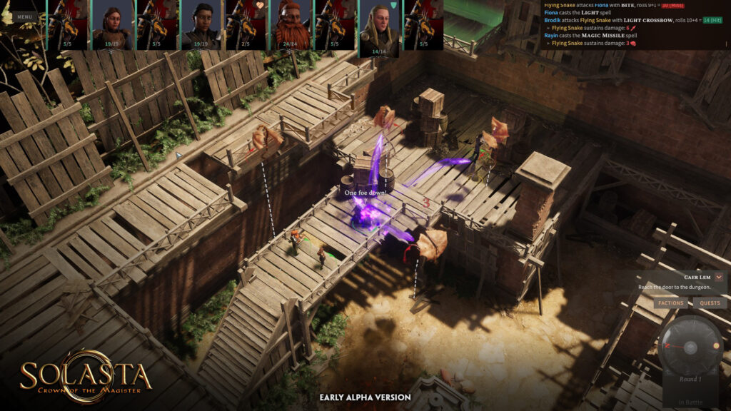 Solasta Crown of the Magister Free Download By Worldofpcgames.com