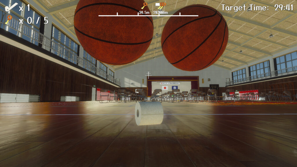 Toilet paper wants to be a basketball Free Download By Worldofpcgames.com