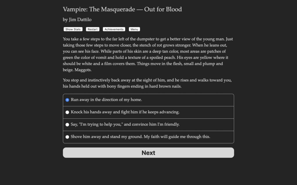Vampire The Masquerade Out for Blood Free Download By Worldofpcgames.com