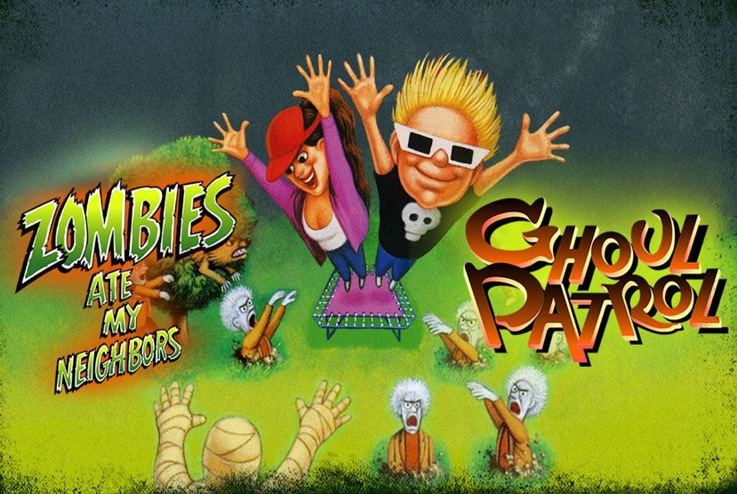 Zombies Ate My Neighbors and Ghoul Patrol Free Download By Worldofpcgames