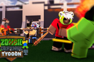 Zombie Defense Tycoon New Gui With Nice Features Roblox Scripts