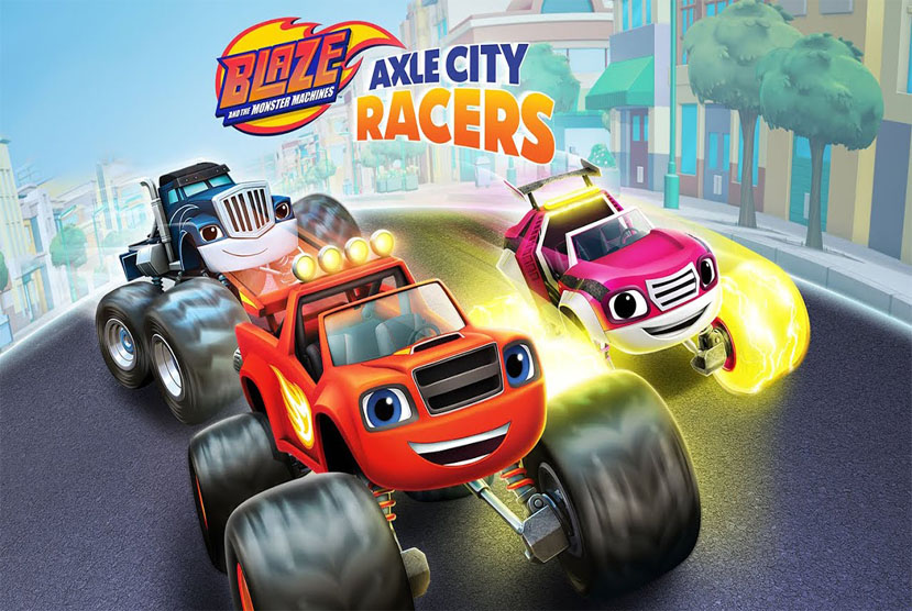 Blaze and the Monster Machines Axle City Racers Free Download By Worldofpcgames